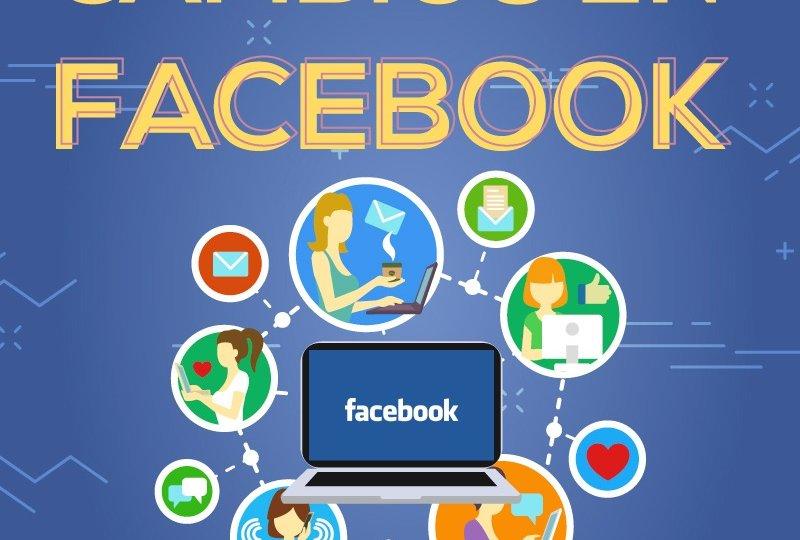 Cambios en facebook 2018