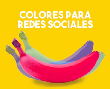 Colores para redes sociales